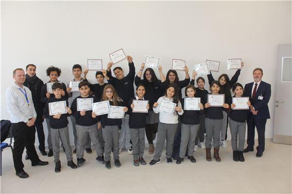 Certificate Recipients