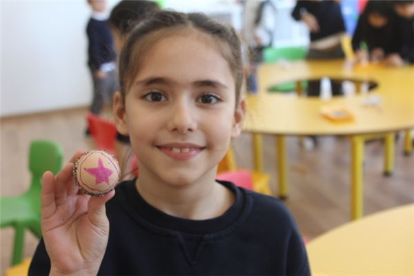 Egg Decorating Activities for our KG department