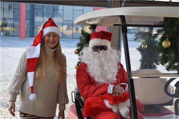 Santa Visit to KG department