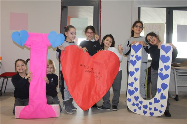 Our Students celebrated Valentine's Day