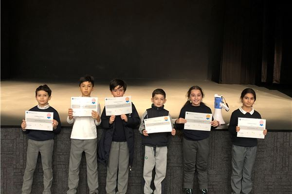 CAT 1.2 Honor Roll Certificates