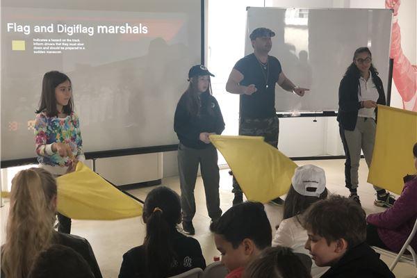Formula 1 Marshall Training