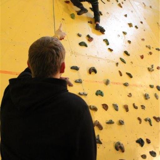 Student climbers reach new heights