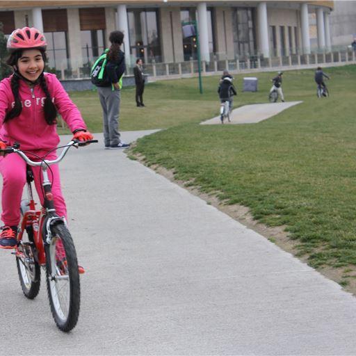 Bicycle Race at Dreamland Golf Club Baku Azerbaijan