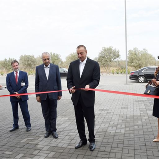 President Ilham Aliyev attended the opening of SABIS® Sun