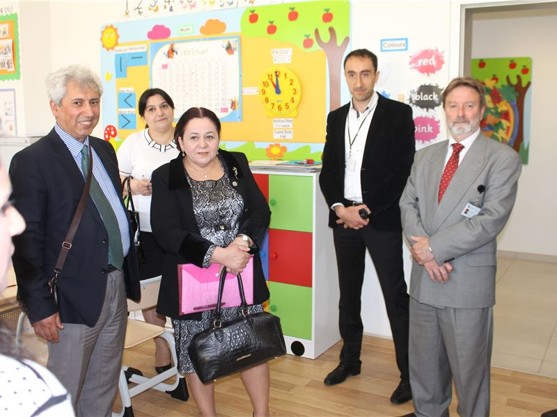 Representatives of the Ministry of Education visiting SABIS SUN® Kindergarten