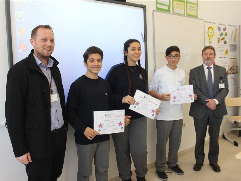 Special Achievement Certificates